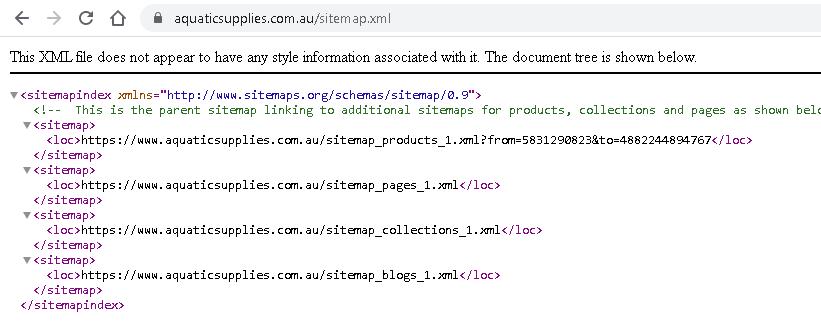 Составная XML карта