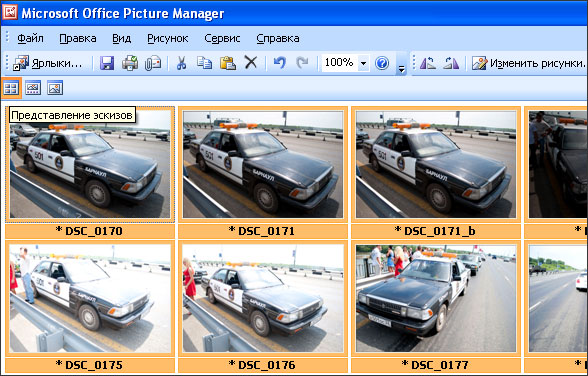 MS Office picture manager