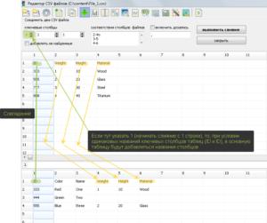 Content Downloader (редактор CSV файлов)